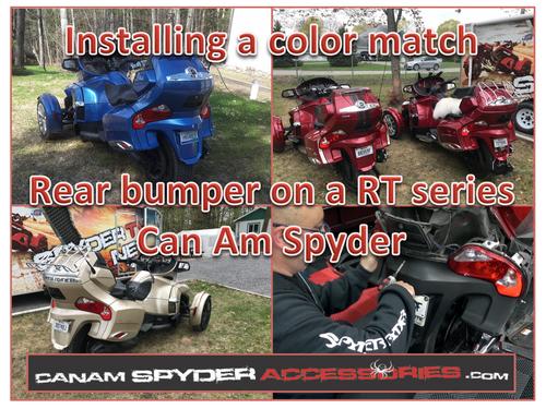 RT Series Color Match Rear Bumper 2010-2019 (Choose your color)