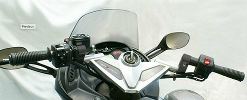 RS-RSS-GS Handlebar Risers fits only 2008-2012