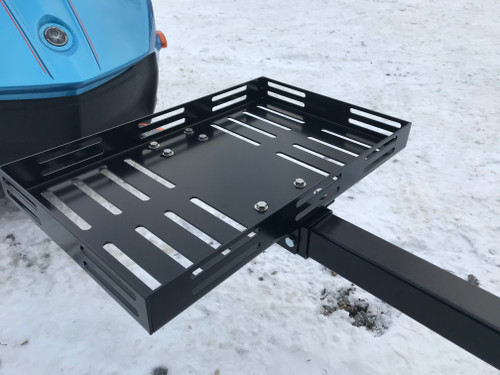 "Universal Trailer cooler rack - Fits any 2"" to 2 1/2"" square trailer pole"
