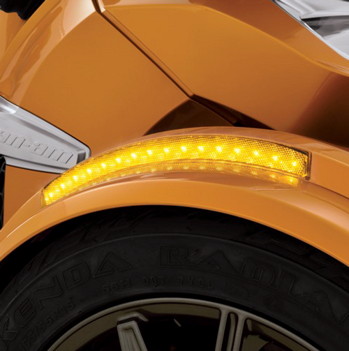 Front Fender Amber Light LED Running/Turnsignal fits 2013-2018