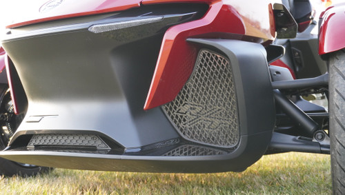 RT Front Grills - 2020 and up - RT Logos - Carbon Fibre Black