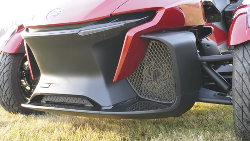 RT Front Grills - 2020 and up - 2 Spiders  - Carbon Fibre Black