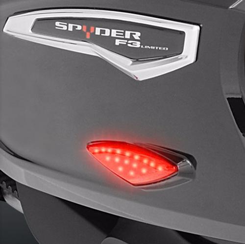 RT 2010-19 /F3T/LTD 2015-newer -  Saddlebags Red LED Marker Light (Pair)