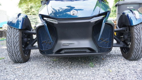 RT Front Grills - 2020 and up - 2 RT Logos  - Petrol Blue with Black RT letters