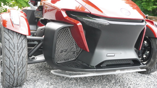 RT Front Grills - 2020 and up - RT Logos - Carbon Fibre Black with Black letters