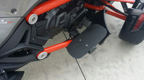 F3 Series Line-X Aluminium Riders  Floorboards (Also works with Manual shift)
