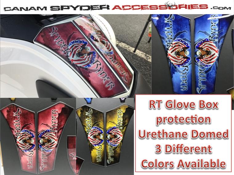 RT Glove Box Protector - Urethane - Spyder Ryder series - 3 colors  2010-2019