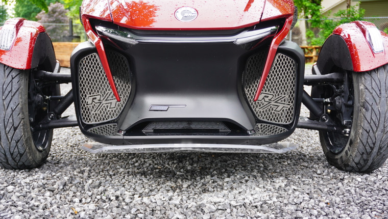 RT Front Grills - 2020 and up - 2 RT Logos - Stainless Steel
