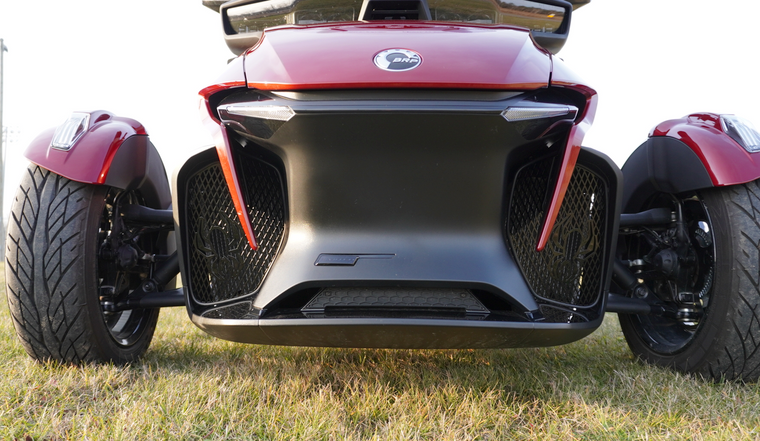RT Front Grills - 2020 and up - 2 Spiders  - Glossy Black Edition