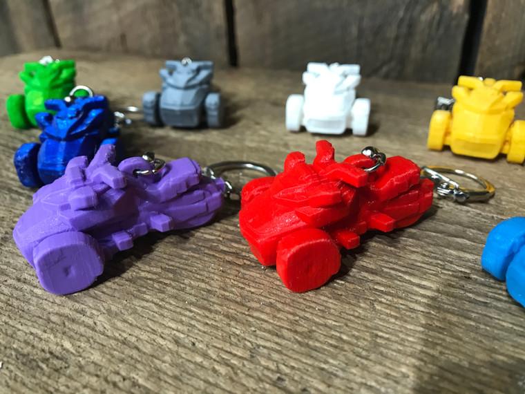 F3 Model  - Spyder Key Holders  - Set of 2 (Choose your colors)