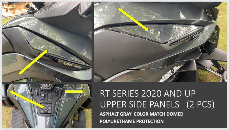 RT 2020 and up - Asphalt Gray  upper side panels protection (2 pcs)
