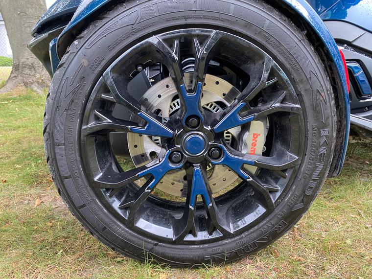 RT 2020 and up - Petrol Blue Color match wheel trims  (14 pcs)