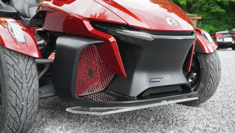 RT Front Grills - 2020 and up - 2 Spiders  - Marsala Red