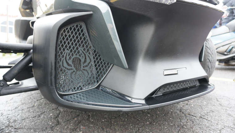RT Front Grills - 2020 and up - 2 Spiders  - Asphalt Gray