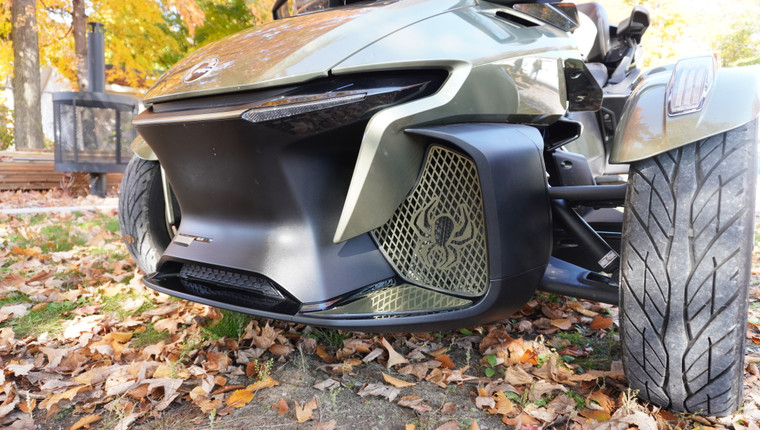 RT Front Grills - 2020 and up - 2 Spiders  - Highland Green