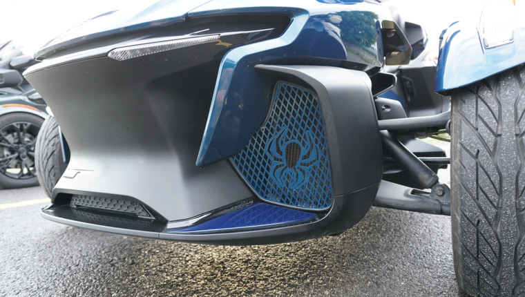 RT Front Grills - 2020 and up - 2 Spiders  - Petrol Blue