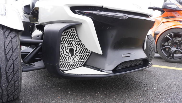 RT Front Grills - 2020 and up - 2 Spiders  - Chalk White
