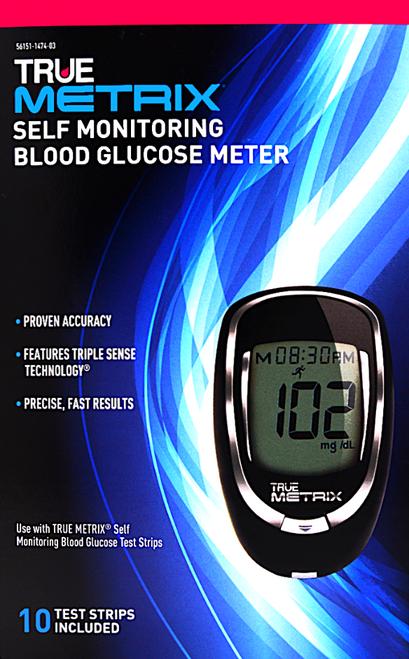True Metrix Self Monitoring Blood Glucose Meter