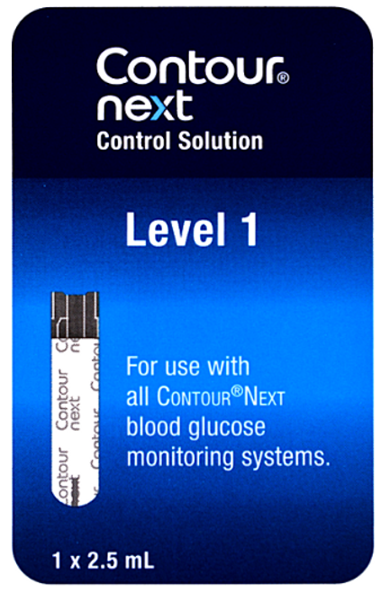 Bayer Contour Next Low Level 1 Control Solution