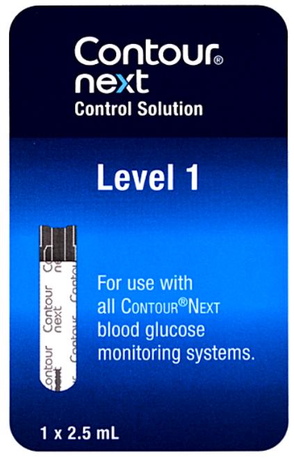 Bayer Contour Next Low Level 1 Control Solution