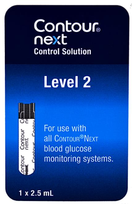 Bayer Contour Next Low Level 2 Control Solution