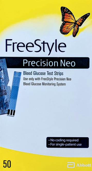 Abbott FreeStyle Precision Neo 50 Test Strips