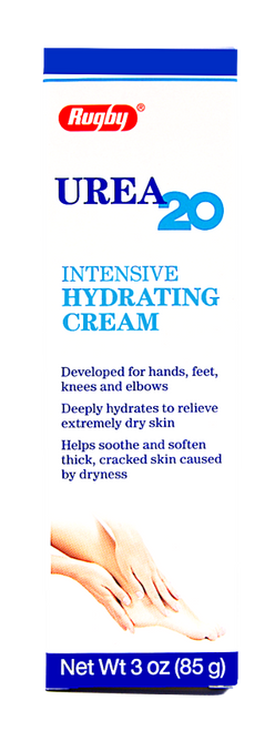 Rugby Urea 20 Intensive Hydrating Cream - 3 oz