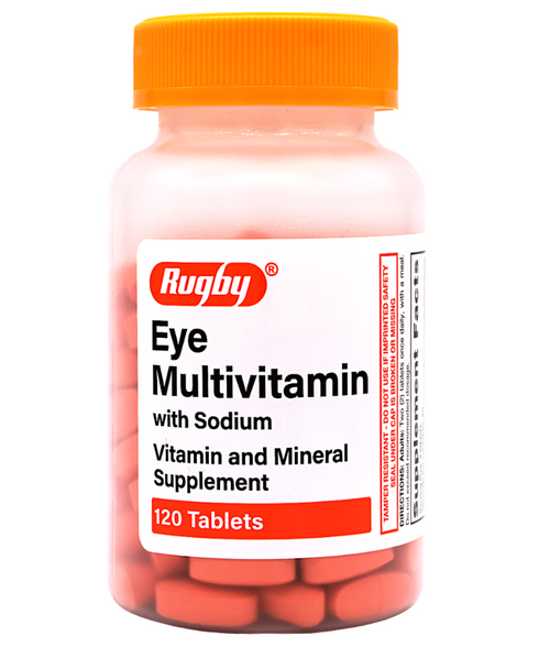 Rugby Eye Multivitamin with Sodium - 120 Tablets