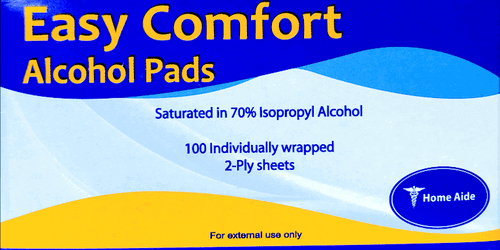 Easy Comfort 100 Alcohol Pads