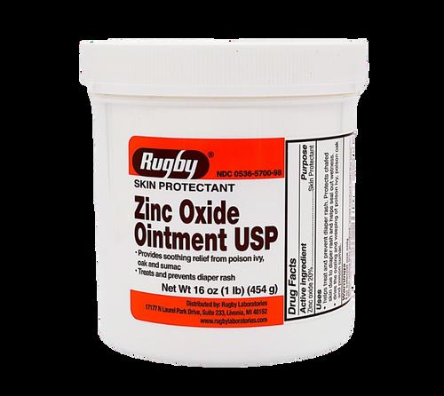 Rugby Zinc Oxide Ointment USP (1lb)