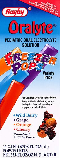 Rugby Oralyte Freezer Pops