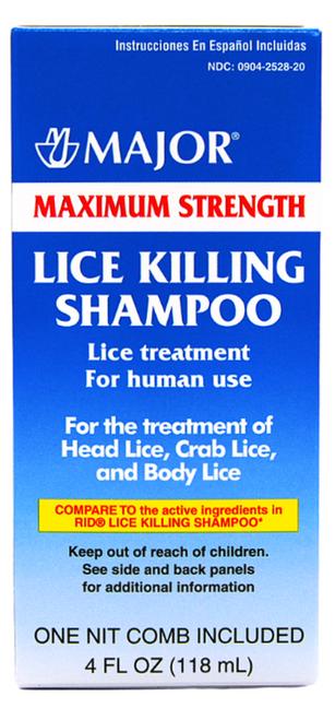 Major Maximum Strength Lice Killing Shampoo
