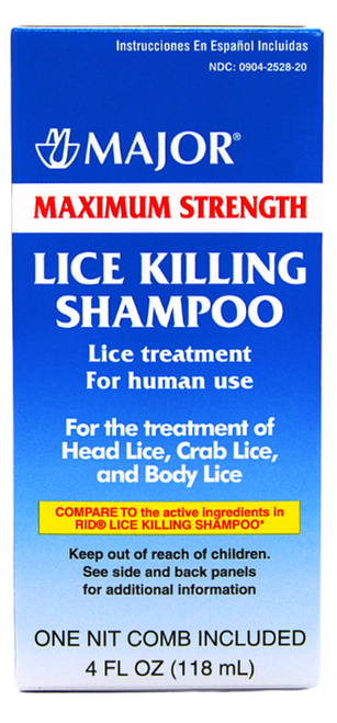 Major Maximum Strength Lice Killing Shampoo