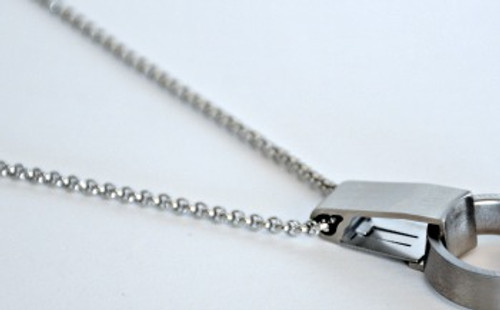 Rollo Chain with RingSafe. Ring and RingSafe not included with purchase of chain.