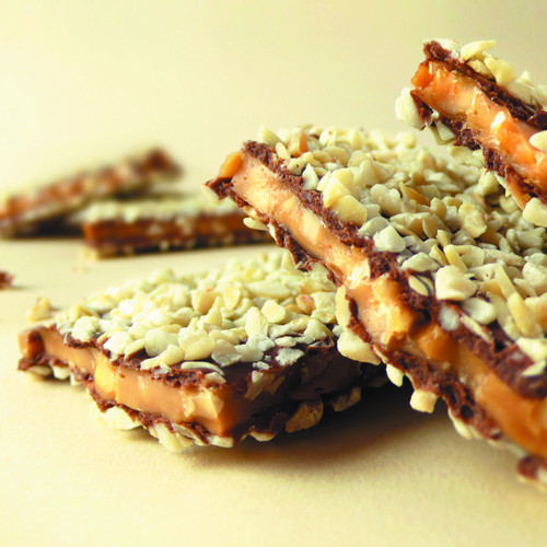 Macadamia Butter Toffee Crunch