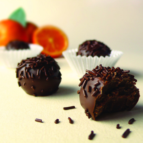 Orange Cream Truffles