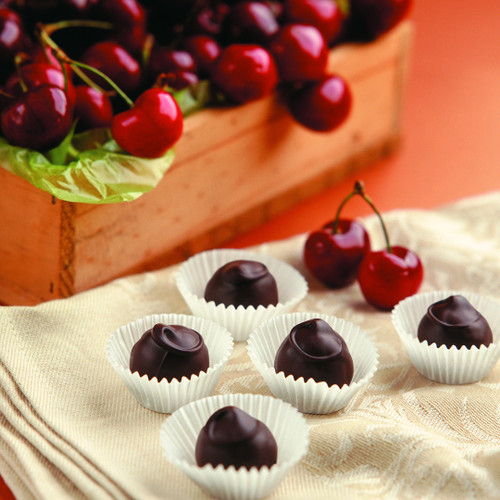Cherry Armagnac Truffles