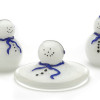 """Melting glass Snowman 