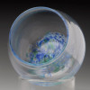"""Stemless """"not just for"""" Wine Glasses, blown glass stemless wine glasses"""