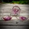 Amethyst Purple Swirl