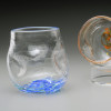 """Crackle """"Thumblers"""" Stemless not just for Wine glass"""