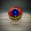 """3"""" lucite ring stands, great for displaying Glass Paperweights made here at the Sherwin Art Glass glassblowing studio, 3"""" in diameter and approximately 1"""" tall."""
