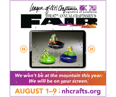 League of NH Craftsmen's Virtual Fair, Day Two!
