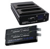 Audioroot Dual-Bay Quick Charger Bundle w/ (2) Audioroot 96Wh Neo Lithium Smart Batteries