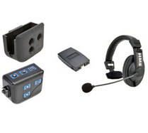 HME CZ11439 BP300 Beltpack with CC-15 headset