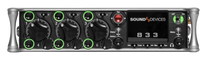 Demo Sound Devices 833 6-Input / 12 Track Field Production Mixer....