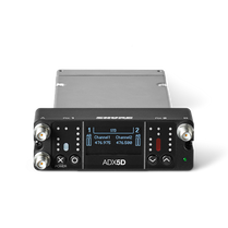 Shure ADX5D Dual-Channel Portable Wireless Receiver (470-636MHz)