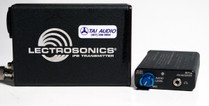 Used Lectrosonics IFB System: T4 Transmitter + R1A Receiver - Block 25