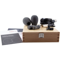 Schoeps Colette CMC 1 L Microphone Amp and MK 4 Cardioid Condenser Capsule (Matte Gray, Stereo Set)