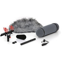 DPA Microphones 4017B-R Shotgun Microphone with Side Active Cable